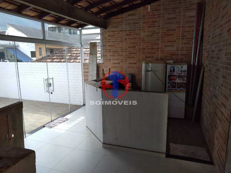 BAR/ TERRAÇO - Casa 4 quartos à venda Grajaú, Rio de Janeiro - R$ 1.100.000 - TJCA40065 - 30