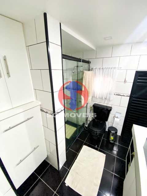 WC - Casa de Vila 3 quartos à venda Tijuca, Rio de Janeiro - R$ 1.300.000 - TJCV30093 - 22