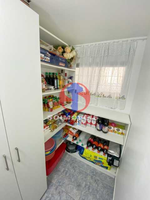 DESPENSA - Casa de Vila 3 quartos à venda Tijuca, Rio de Janeiro - R$ 1.300.000 - TJCV30093 - 28