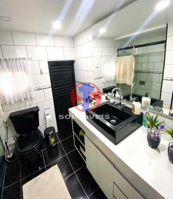 WC - Casa de Vila 3 quartos à venda Tijuca, Rio de Janeiro - R$ 1.300.000 - TJCV30093 - 23