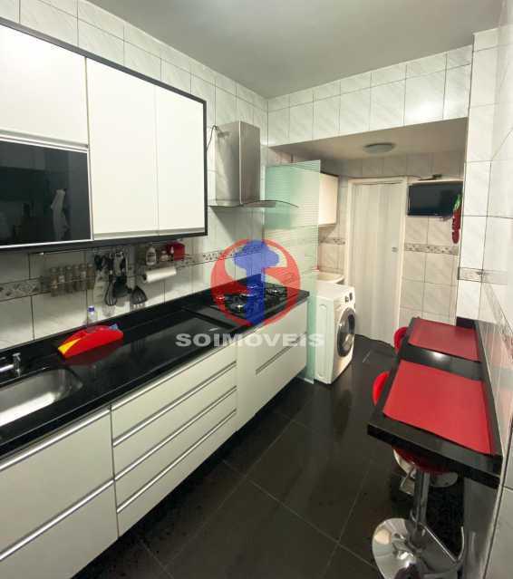 COZINHA - Casa de Vila 3 quartos à venda Tijuca, Rio de Janeiro - R$ 1.300.000 - TJCV30093 - 26