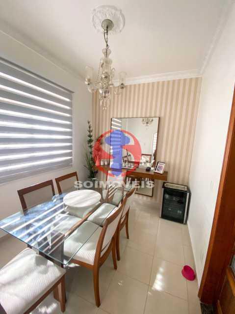 SALA JANTAR - Casa de Vila 3 quartos à venda Tijuca, Rio de Janeiro - R$ 1.300.000 - TJCV30093 - 8