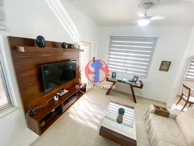 SALA ESTAR - Casa de Vila 3 quartos à venda Tijuca, Rio de Janeiro - R$ 1.300.000 - TJCV30093 - 13