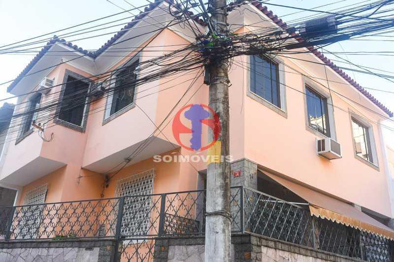 FACHADA  - Casa de Vila 3 quartos à venda Tijuca, Rio de Janeiro - R$ 1.300.000 - TJCV30093 - 1