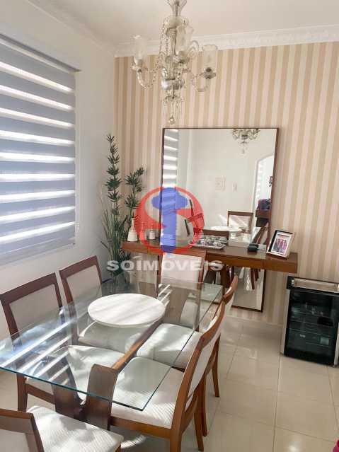 SALA JANTAR - Casa de Vila 3 quartos à venda Tijuca, Rio de Janeiro - R$ 1.300.000 - TJCV30093 - 9