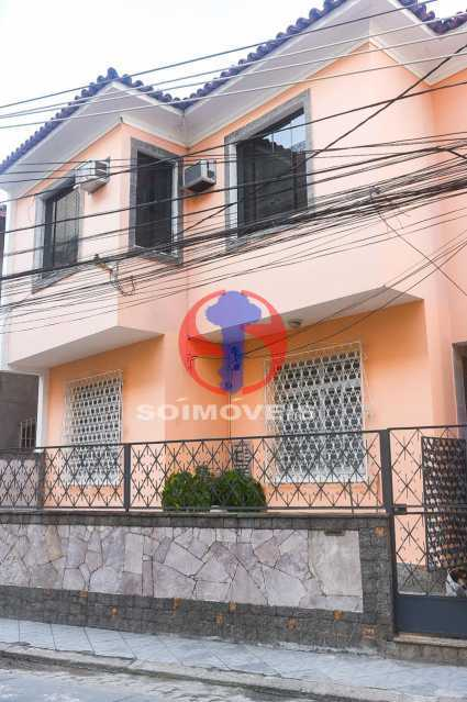 FACHADA  - Casa de Vila 3 quartos à venda Tijuca, Rio de Janeiro - R$ 1.300.000 - TJCV30093 - 3