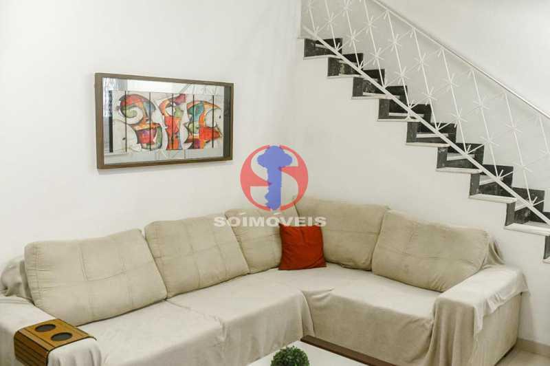 SALA ESTAR - Casa de Vila 3 quartos à venda Tijuca, Rio de Janeiro - R$ 1.300.000 - TJCV30093 - 14