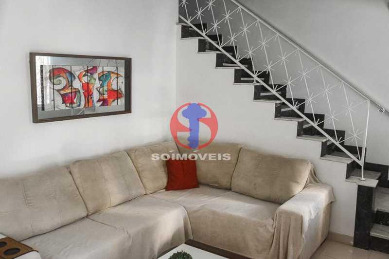SALA DE ESTAR - Casa de Vila 3 quartos à venda Tijuca, Rio de Janeiro - R$ 1.300.000 - TJCV30093 - 15