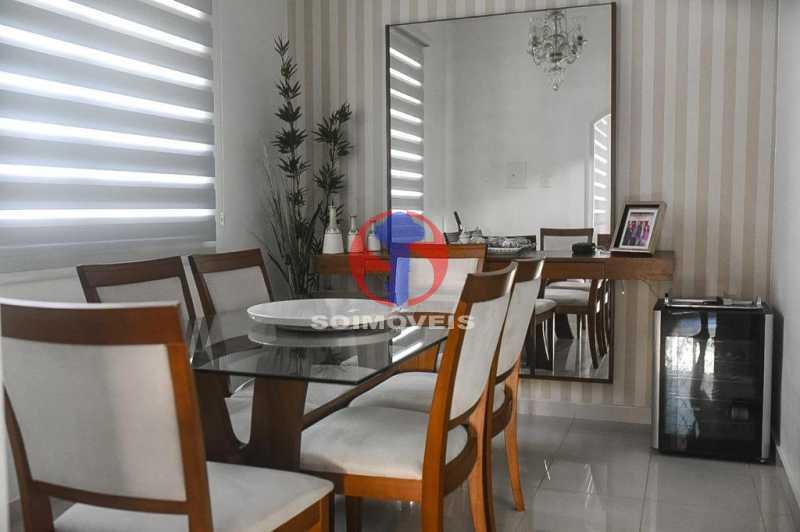 SALA DE JANTAR - Casa de Vila 3 quartos à venda Tijuca, Rio de Janeiro - R$ 1.300.000 - TJCV30093 - 10