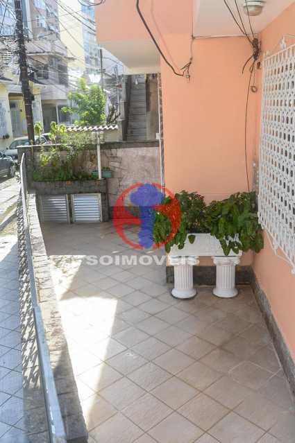 ÁREA EXTERNA FRENTE - Casa de Vila 3 quartos à venda Tijuca, Rio de Janeiro - R$ 1.300.000 - TJCV30093 - 5