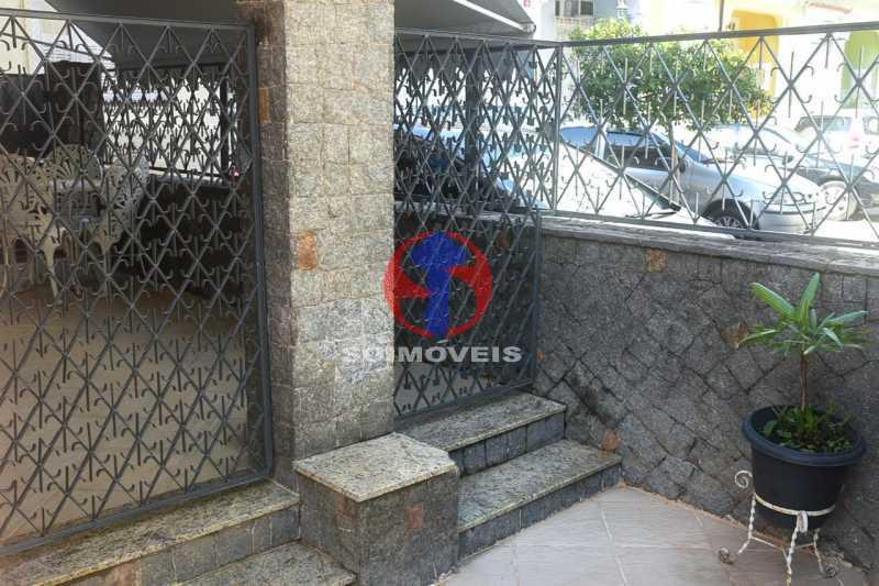ÁREA EXTERNA LATERAL - Casa de Vila 3 quartos à venda Tijuca, Rio de Janeiro - R$ 1.300.000 - TJCV30093 - 6