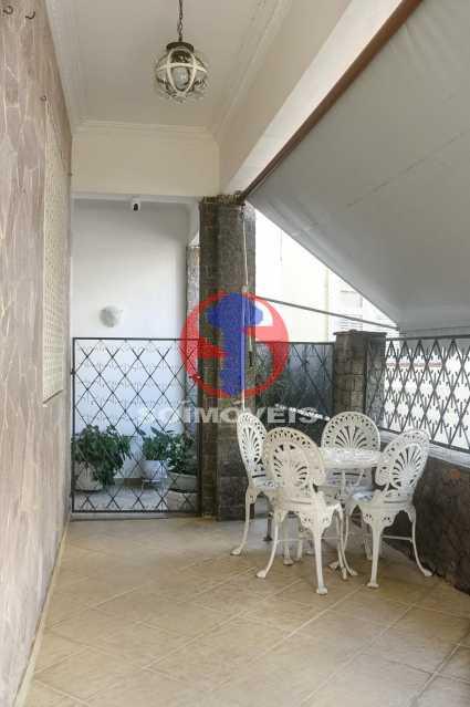 VARANDA - Casa de Vila 3 quartos à venda Tijuca, Rio de Janeiro - R$ 1.300.000 - TJCV30093 - 7