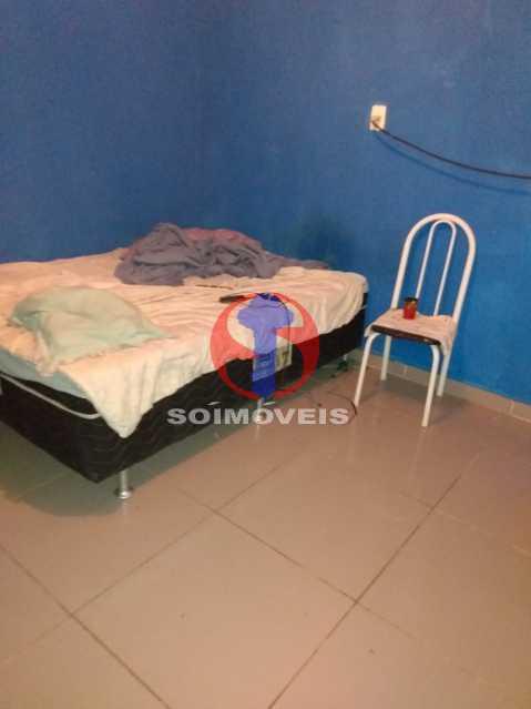 Primeiro quarto - casa de cima - Casa 4 quartos à venda Rio Comprido, Rio de Janeiro - R$ 180.000 - TJCA40067 - 16