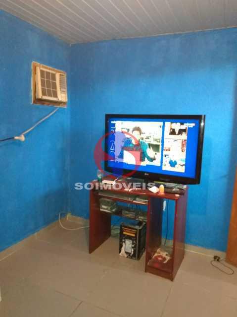 Primeiro quarto - casa de cima - Casa 4 quartos à venda Rio Comprido, Rio de Janeiro - R$ 180.000 - TJCA40067 - 17