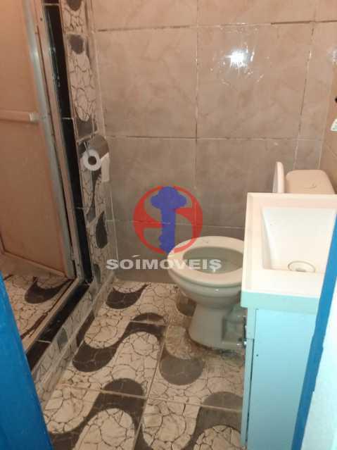 banheiro - casa de cima - Casa 4 quartos à venda Rio Comprido, Rio de Janeiro - R$ 180.000 - TJCA40067 - 19