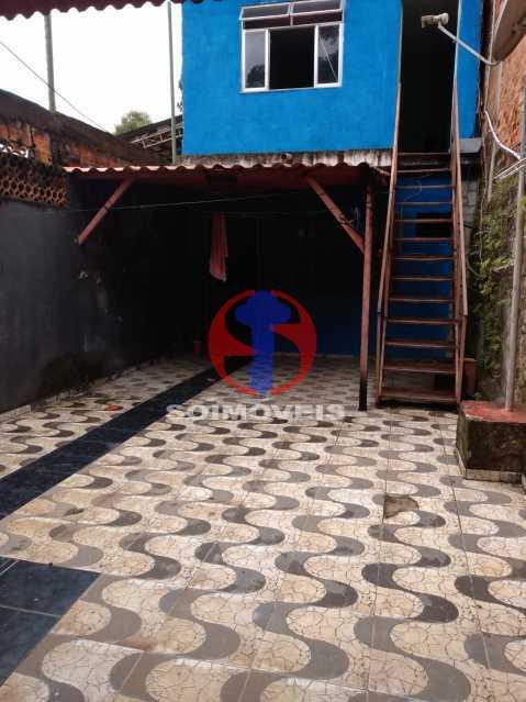 Quintal - Casa 4 quartos à venda Rio Comprido, Rio de Janeiro - R$ 180.000 - TJCA40067 - 1