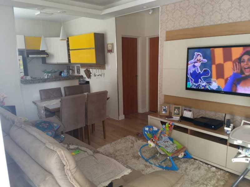580017930674378 - Apartamento 2 quartos à venda Jundiapeba, Mogi das Cruzes - R$ 160.000 - BIAP20086 - 1