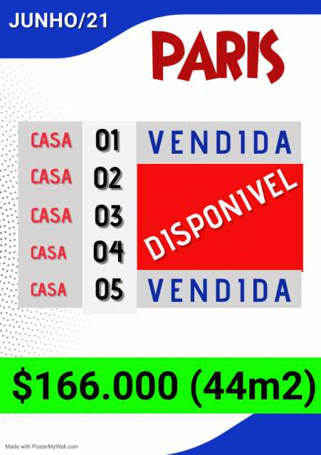 e0d4f0d9-66e6-44de-b3e8-8ed7ae - Casa em Condomínio 2 quartos à venda Vila São Paulo, Mogi das Cruzes - R$ 166.000 - BICN20002 - 20