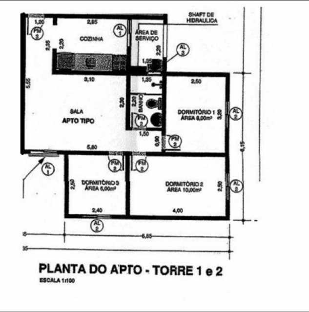 154141540460944 - Apartamento 3 quartos à venda Vila Brasileira, Mogi das Cruzes - R$ 290.000 - BIAP30026 - 19