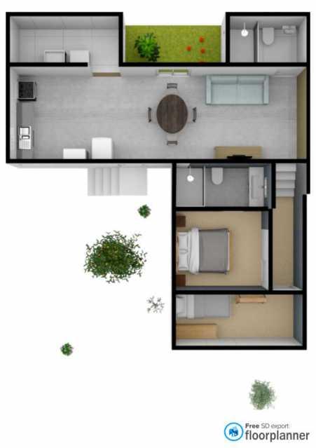 b8551df9-2ab6-4c36-b60a-b967b8 - Casa 1 quarto à venda Biritiba Ussu, Mogi das Cruzes - R$ 70.000 - BICA10008 - 8