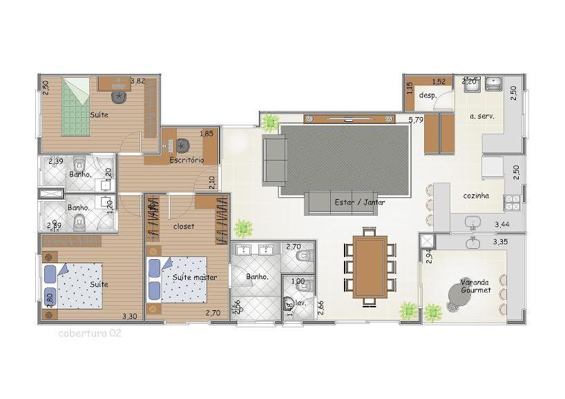 FOTO7 - Apartamento 2 quartos à venda Itatiba,SP - R$ 285.000 - AP0107 - 9