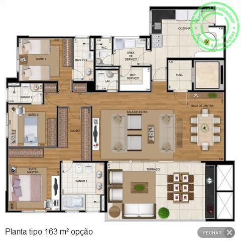 FOTO6 - Apartamento 4 quartos à venda Jundiaí,SP - R$ 1.100.000 - AP0195 - 8