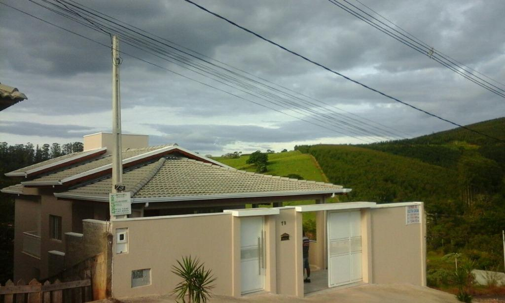 FOTO0 - Casa 3 quartos à venda Morungaba,SP - R$ 450.000 - CA1064 - 1