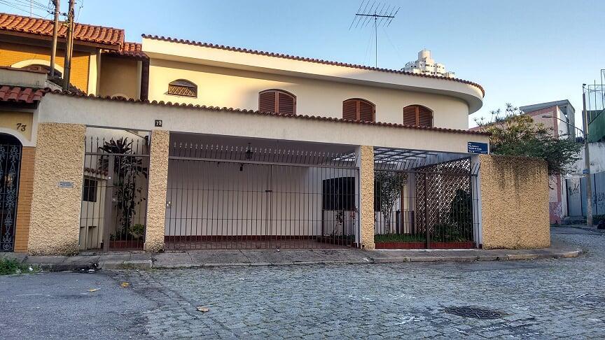 FOTO0 - Casa 4 quartos à venda São Paulo,SP Tatuapé - R$ 960.000 - CA2142 - 1