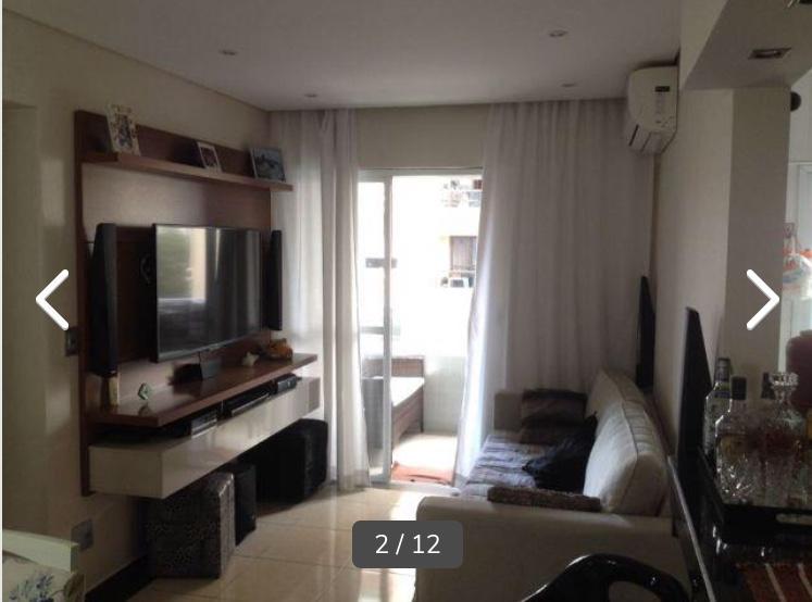 FOTO0 - Apartamento 3 quartos à venda Santos,SP - R$ 440.000 - AP0521 - 1