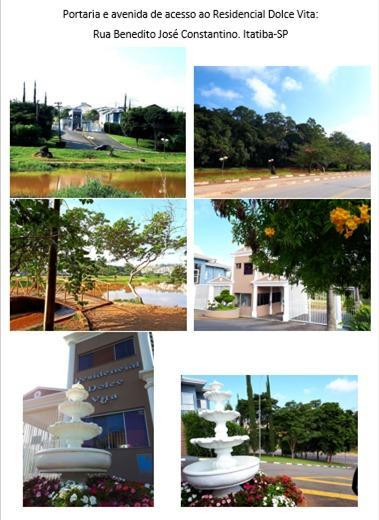 FOTO0 - Terreno à venda Itatiba,SP - R$ 220.000 - TE1429 - 1