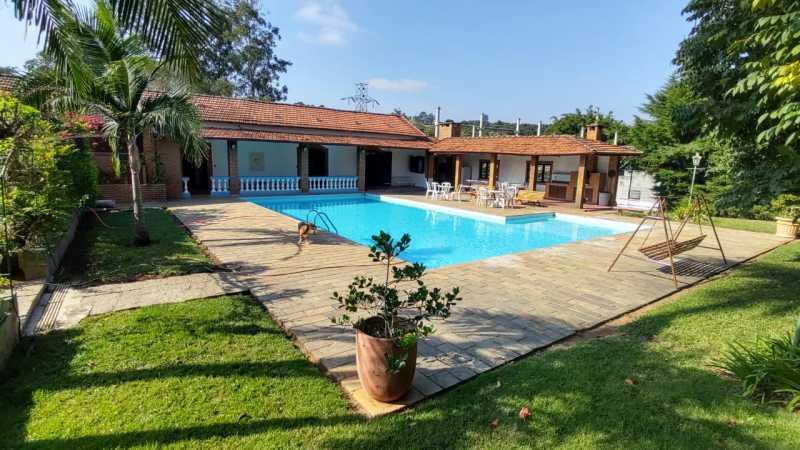 Visão Da Casa Principal - Sítio 22000m² à venda Itatiba,SP - R$ 3.500.000 - VISI40001 - 1