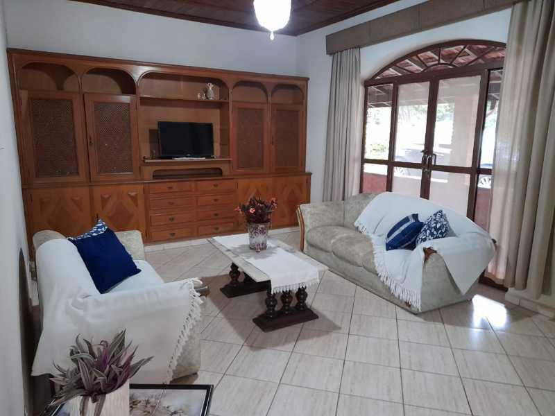 Sala De Tv Casa principal - Sítio 22000m² à venda Itatiba,SP - R$ 3.500.000 - VISI40001 - 15