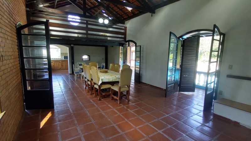 Sala de Jantar e Mezanino - Sítio 22000m² à venda Itatiba,SP - R$ 3.500.000 - VISI40001 - 22