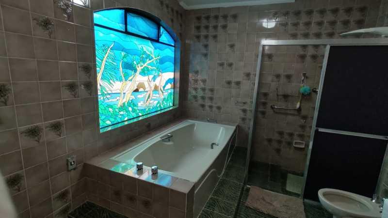 Banheiro da Suíte Casa P. - Sítio 22000m² à venda Itatiba,SP - R$ 3.500.000 - VISI40001 - 17