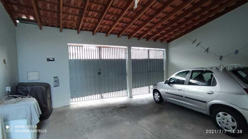 Vaga/área de serviço - Casa 2 quartos para venda e aluguel Itatiba,SP - R$ 350.000 - VICA20036 - 17