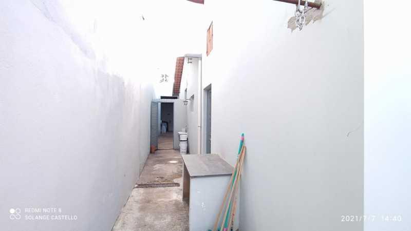 Corredor área externa - Casa 2 quartos para venda e aluguel Itatiba,SP - R$ 350.000 - VICA20036 - 14