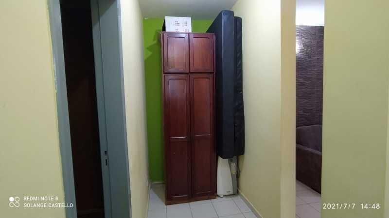 Corredor de acesso Sala/quarto - Casa 2 quartos para venda e aluguel Itatiba,SP - R$ 350.000 - VICA20036 - 10