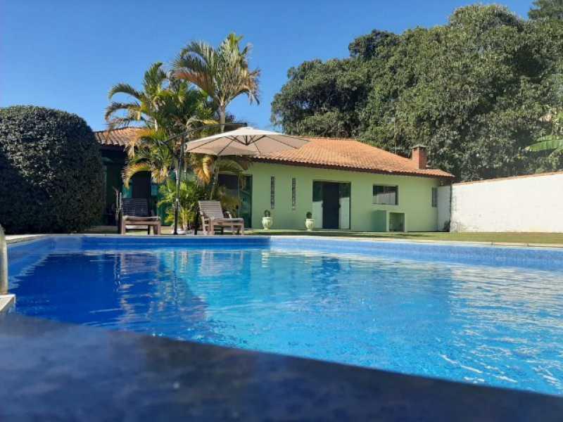 Área da Piscina - Chácara 1035m² à venda Itatiba,SP - R$ 900.000 - VICH30005 - 1