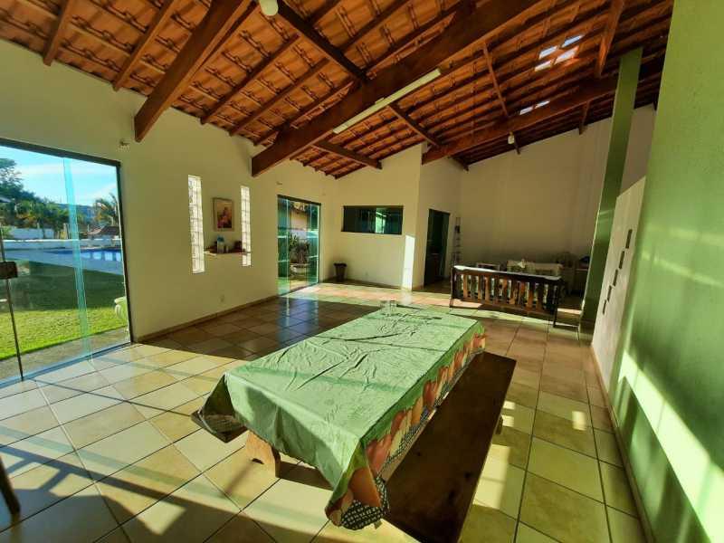área gourmet - Chácara 1035m² à venda Itatiba,SP - R$ 900.000 - VICH30005 - 20
