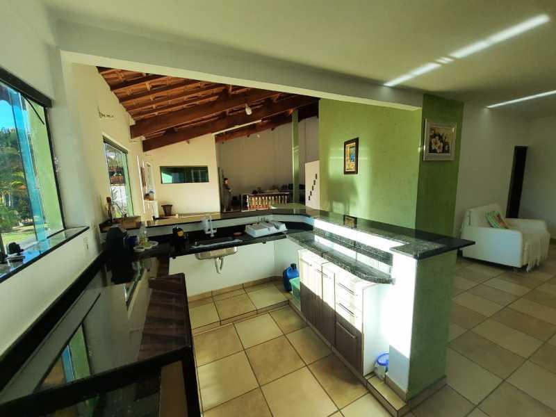 área gourmet - Chácara 1035m² à venda Itatiba,SP - R$ 900.000 - VICH30005 - 21