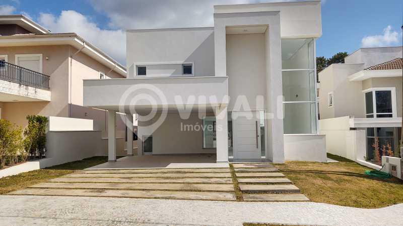 Frente - Casa em Condomínio 3 quartos à venda Itatiba,SP - R$ 1.600.000 - VICN30154 - 1