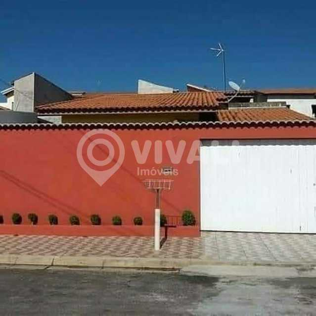 Frente - Casa 3 quartos à venda Itatiba,SP - R$ 455.000 - VICA30047 - 1