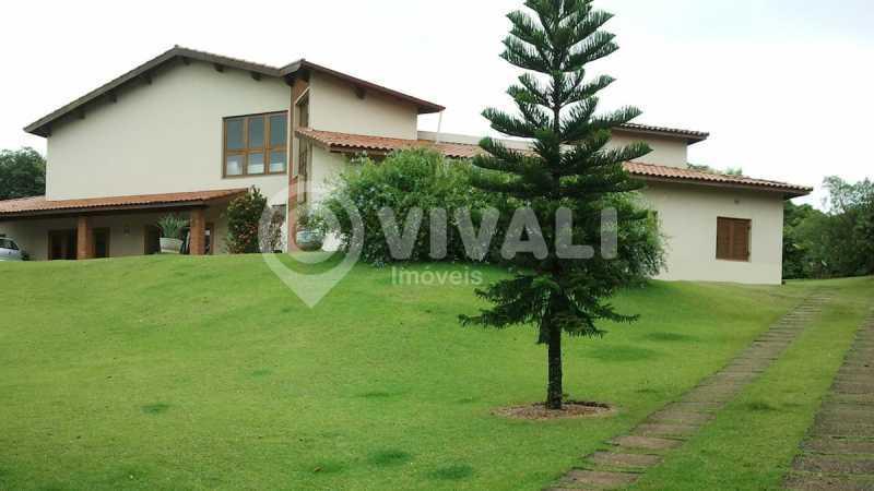 Frente - Casa em Condomínio 5 quartos à venda Itatiba,SP - R$ 1.800.000 - VICN50019 - 1