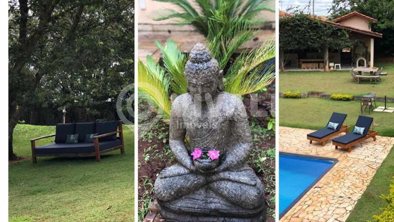 decoração externa - Casa em Condomínio 5 quartos à venda Itatiba,SP - R$ 1.800.000 - VICN50019 - 23