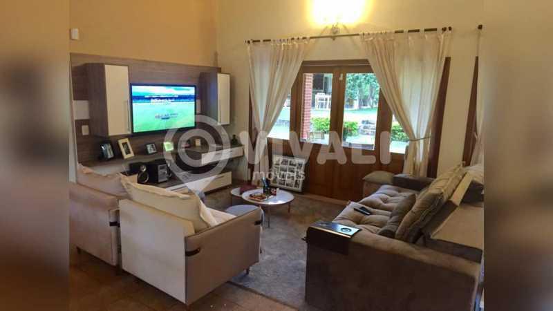 Sala - Casa em Condomínio 5 quartos à venda Itatiba,SP - R$ 1.800.000 - VICN50019 - 11