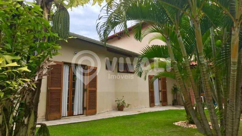 Frente - Casa em Condomínio 5 quartos à venda Itatiba,SP - R$ 1.800.000 - VICN50019 - 3