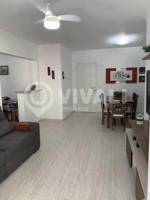 Visão Sala de Jantar e de TV - Apartamento 3 quartos à venda Praia Grande,SP - R$ 575.000 - VIAP30043 - 5