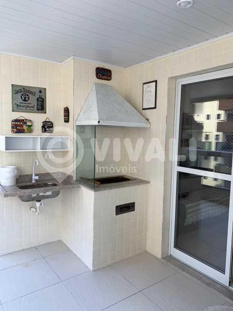 Area Gourmet Churrasqueira - Apartamento 3 quartos à venda Praia Grande,SP - R$ 575.000 - VIAP30043 - 16