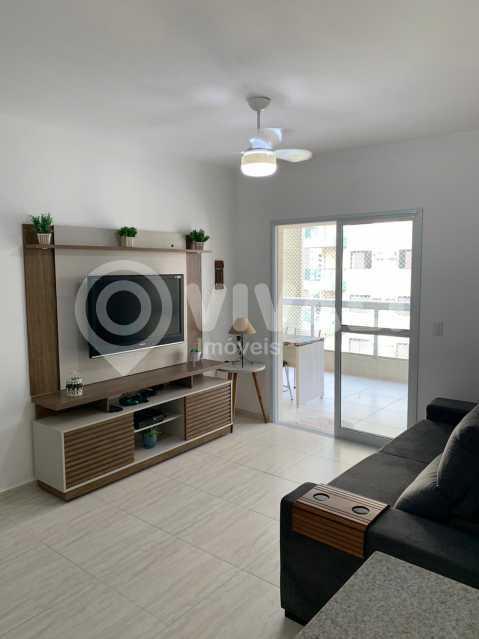 Sala de TV - Apartamento 3 quartos à venda Praia Grande,SP - R$ 575.000 - VIAP30043 - 4