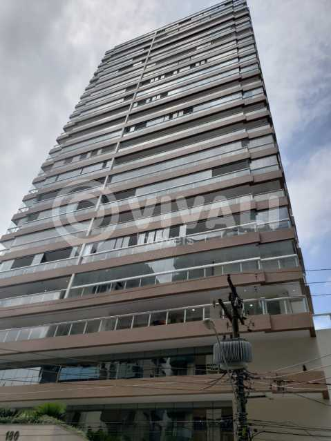 Visão do Predio - Apartamento 3 quartos à venda Praia Grande,SP - R$ 575.000 - VIAP30043 - 20
